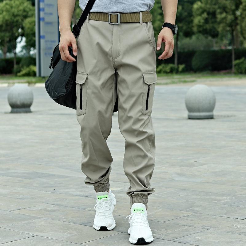Камуфляжные брюки HOUZHOU, мужские модные камуфляжные брюки-карго, черные брюки-карго с укороченными штанинами для мужчин, Военная Тактическая...