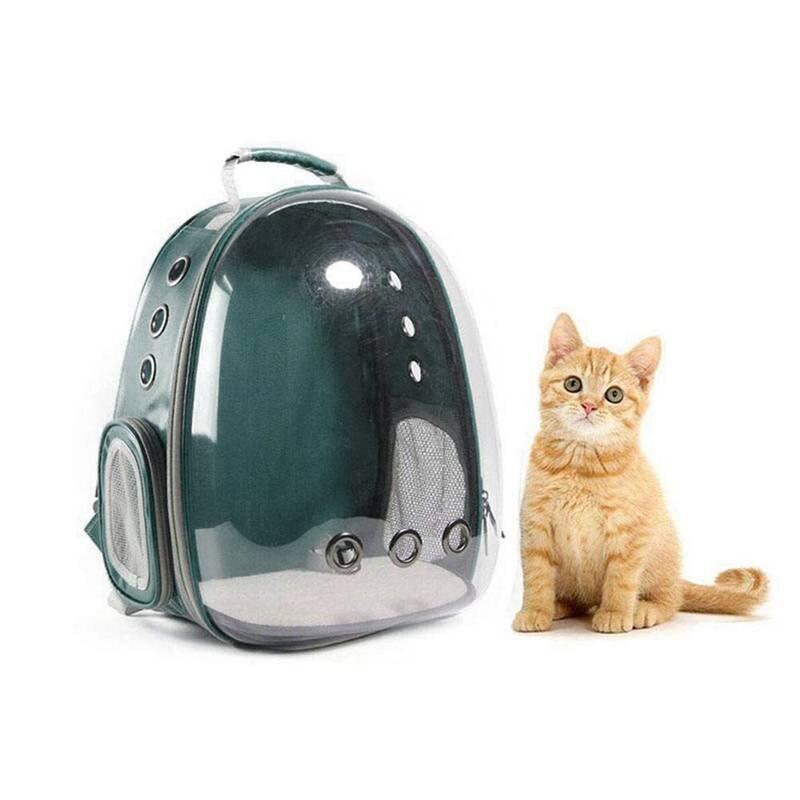 Popular burbuja portadora XD para mascotas/gatos/perros/mochila de cachorro, nuevo diseño de cápsula espacial mochila de conejo de 360 grados de turismo