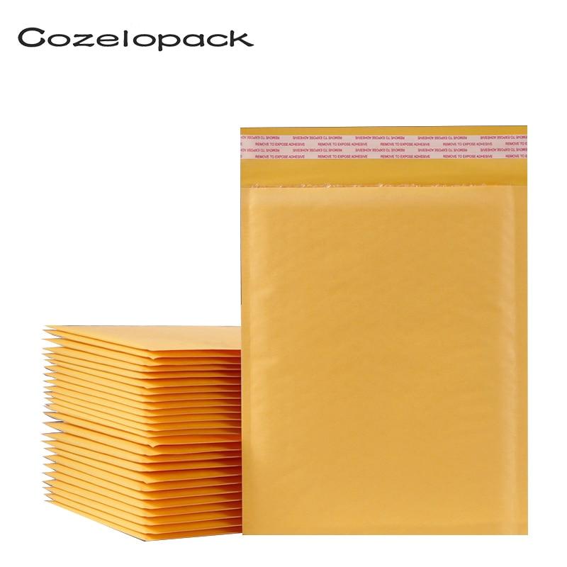 Пакеты из крафт-бумаги, бумажные конверты с пузырьками, упаковочные пакеты с подкладкой, пакеты для хранения, пакеты из пузырьковой бумаги, ...