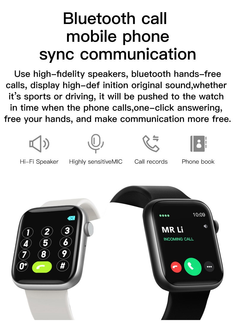 "Heeb174a4773a4c4fb40b5216e1cb1ad59 2021 IWO 13 MAX Smart Watch T500+ plus 1.75""HD Bluetooth Calls Custom Wallpaper Heart Rate Monitor Sport Smartwatch PK W46 W26"