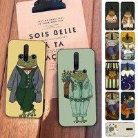 fhnblj mr frog phone case for redmi 5 6 7 8 9 a x pro plus k20 s2 k30 pro go
