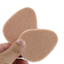 15/17/20Pair Female Non-Slip High Heel Front Palm Peach-Shaped Pad Foot Care Shock Sweat-Absorbent S