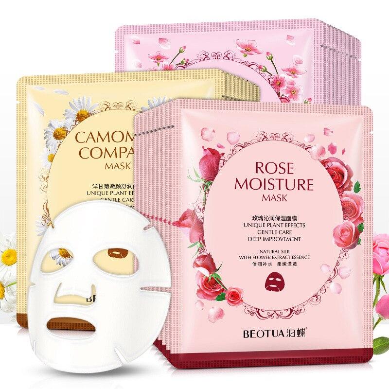 1PC Deep Brighten Moisturizing Facial Mask Skin Care Oil-control Anti Acne Aging Whitening Nourish H