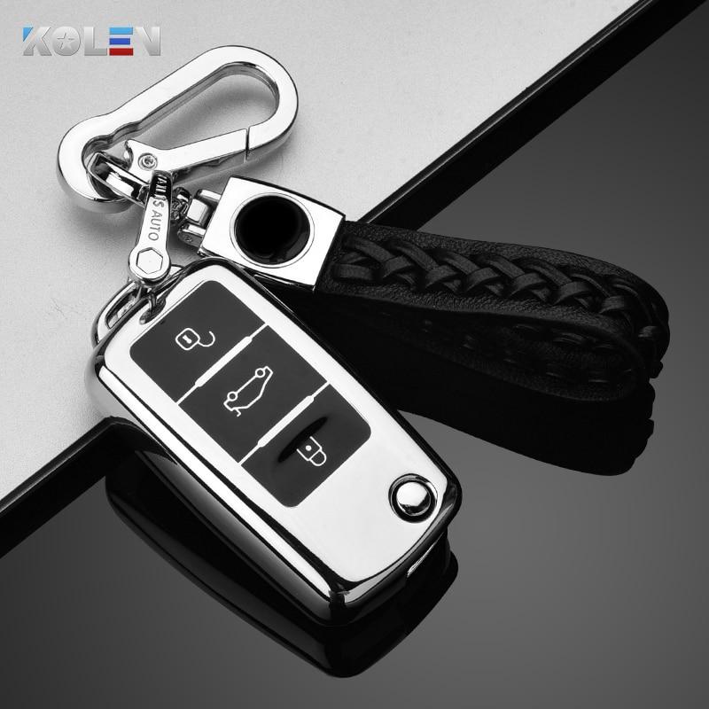 AliExpress - New Soft TPU Car Remote Key Case Cover For Volkswagen VW Bora Polo Tiguan Jetta Passat B5 B6 B7 Golf Beetle For Skoda Octavia
