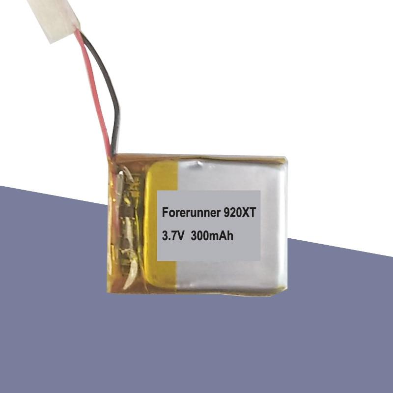 Batería recargable 300mAh 3,7 V para Garmin Forerunner 920XT Smart Watch acumulador de batería AKKU