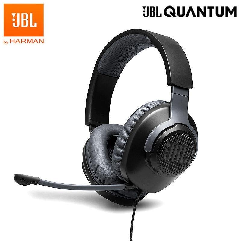 100% الأصلي JBL QUANTUM100 Q100 ستيريو رئيس محمولة السلكية مخصصة سماعة الألعاب المهنية FPS المحيطي مع ميكروفون