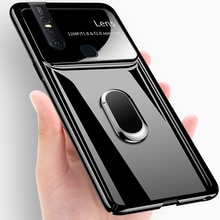 Pour vivo V15 PRO étui de luxe PC dur avec anneau de support aimant mince housse de protection arrière étui pour vivo V9 V11PRO V11i coque de téléphone