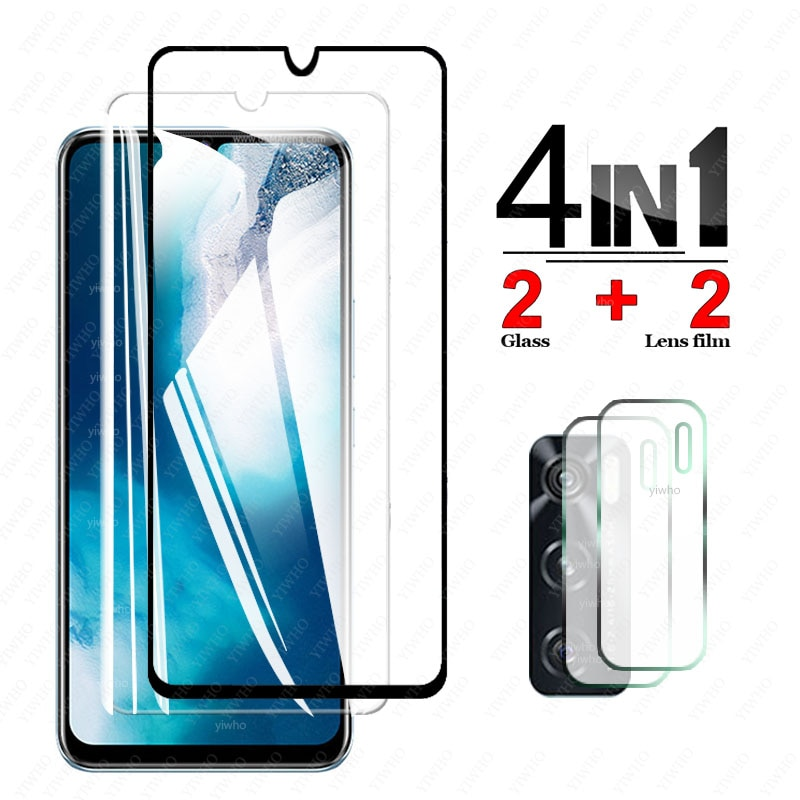 Protective Glass on For Vivo Y70 Film Screen Protector Tempered Glass for Vivo Y 70 Camera Lens Film