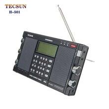 Радио Tecsun H 501 Dual Динамик DSP боковая полоса (SSB) Портативный полный диапазон радио Музыкальный плеер Bluetooth Динамик с электронное руководство по эксплуатации на английском языке