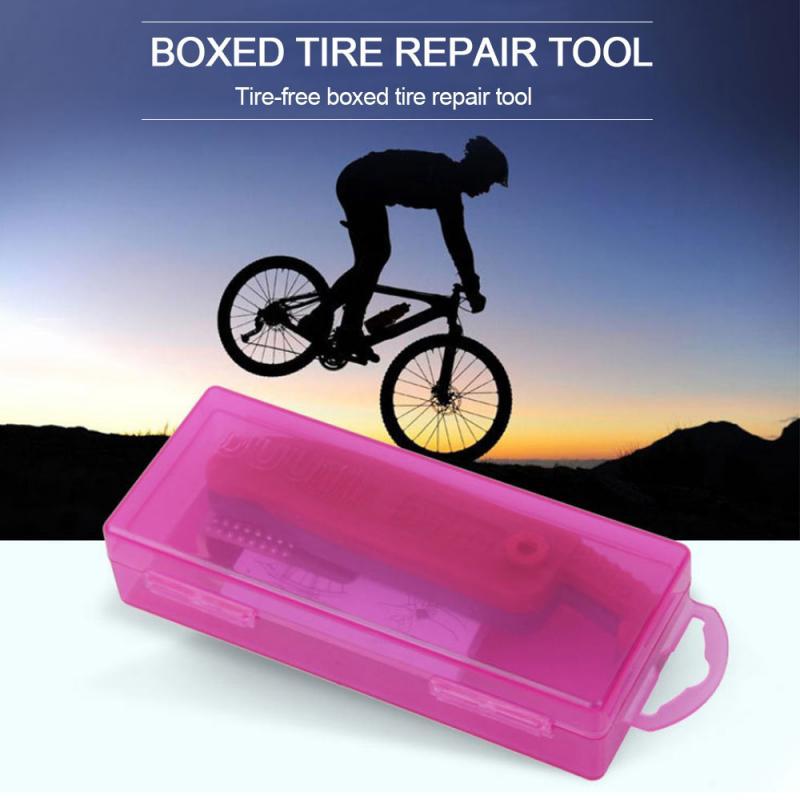 Mountain Bike Glue-free Tire Repair Tool Multipurpose Emergency Tire Repair Tire Repair Kit Outdoor Cycling Equipment