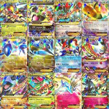 60Pcs/Box TAKARA TOMY Pokemon Cards EX MEGA Booster Box English Trading Battle Shining Game Card Top