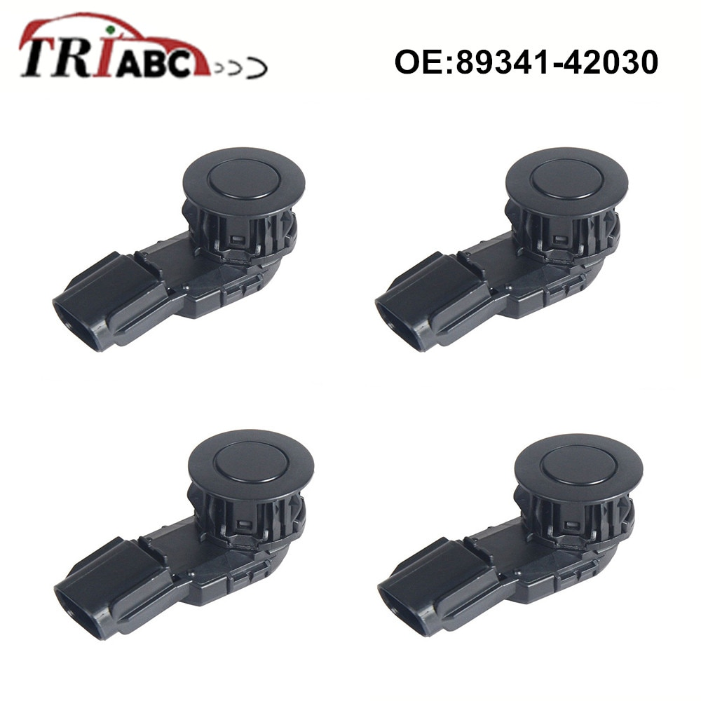 89341-42030 PDC Parktronic For Toyota RAV 4 IV _A4 Parking Sensor Anti Radar Detector Car Distance Control Accessory 4pcs/lot