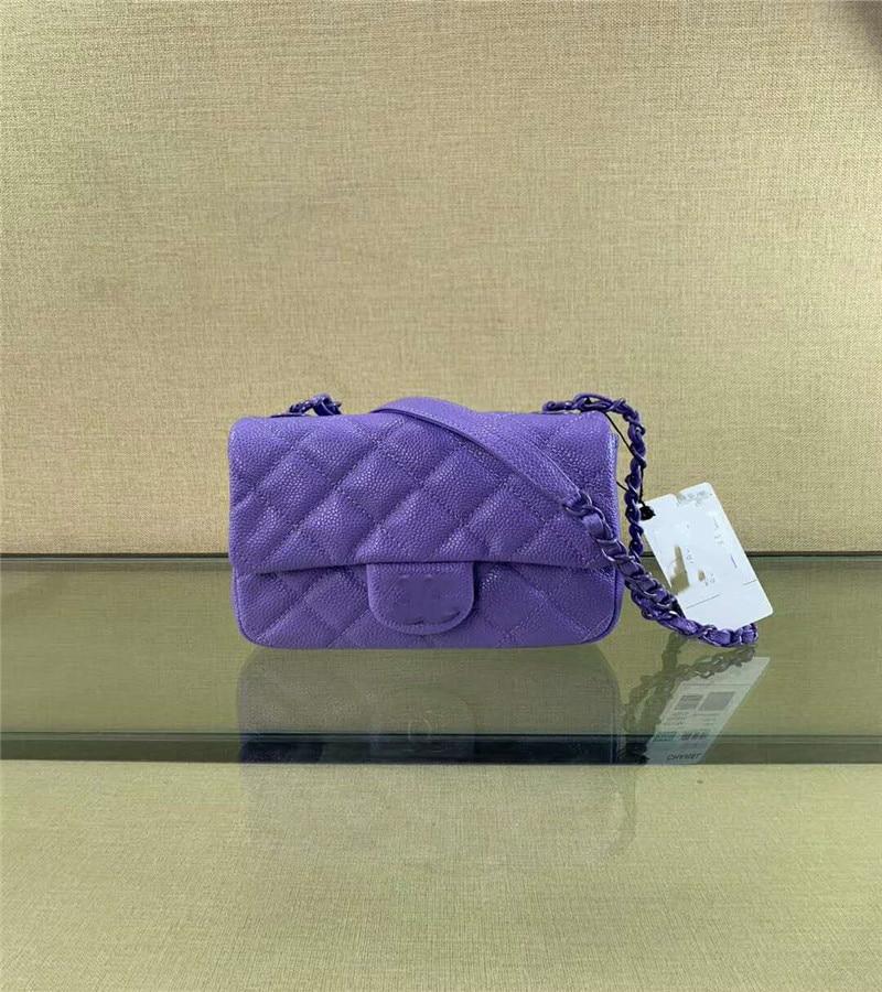 Saco de couro feminino 2020 novo pequeno saco de caixa de fragrância saco de corpo cruz pequena fragrância saco de corrente de vento saco de telefone móvel mini pequeno b