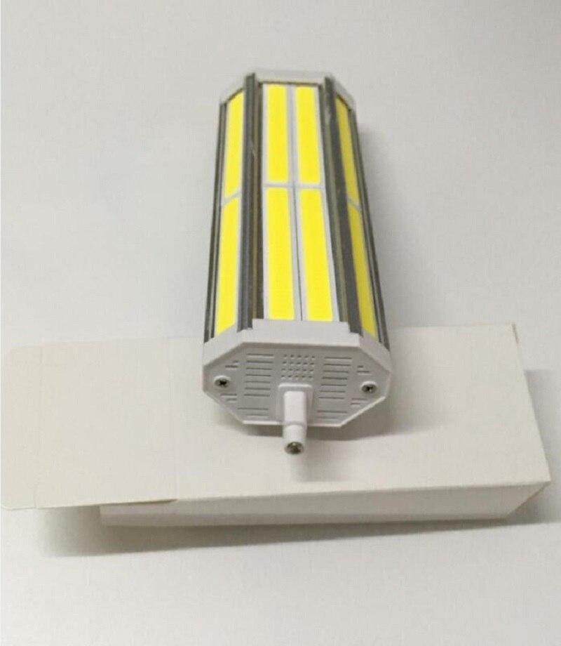 Alta Potencia regulable 189mm led R7S luz 50W COB J189 R7S lámpara led reemplazar 500W lámpara halógena 110-240V