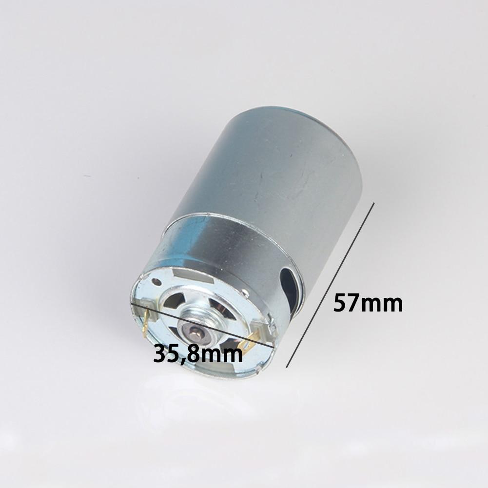 RS-550, Universal, alto par, 24V DC 12V, alta velocidad, reparación, Micro 5800RPM, RC, taladro de coche, reemplazo de controladores, piezas de Motor eléctrico