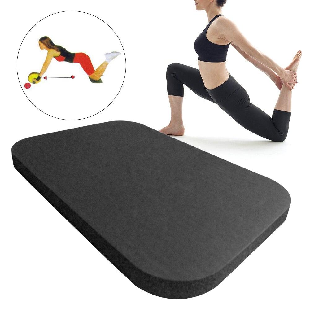 Apoyo jardín gimnasio en casa accesorios de acolchado Extra Pilates espuma suelo rectangular muñeca de ejercicio codo cojines Yoga rodillera
