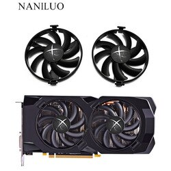 Новый 94 мм FDC10H12S9-C светодиодный охлаждающий вентилятор заменить для XFX AMD Radeon R7 370 RX 470 480 570 580 RX460 RX 460