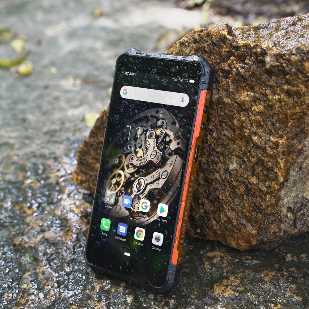 Ulefone Armor X5 Smartphone Android 10 MT6762 Octa Core Ip68 Rugged 4G LTE Mobile Phone Waterproof  Cell Phone 3GB 32GB NFC