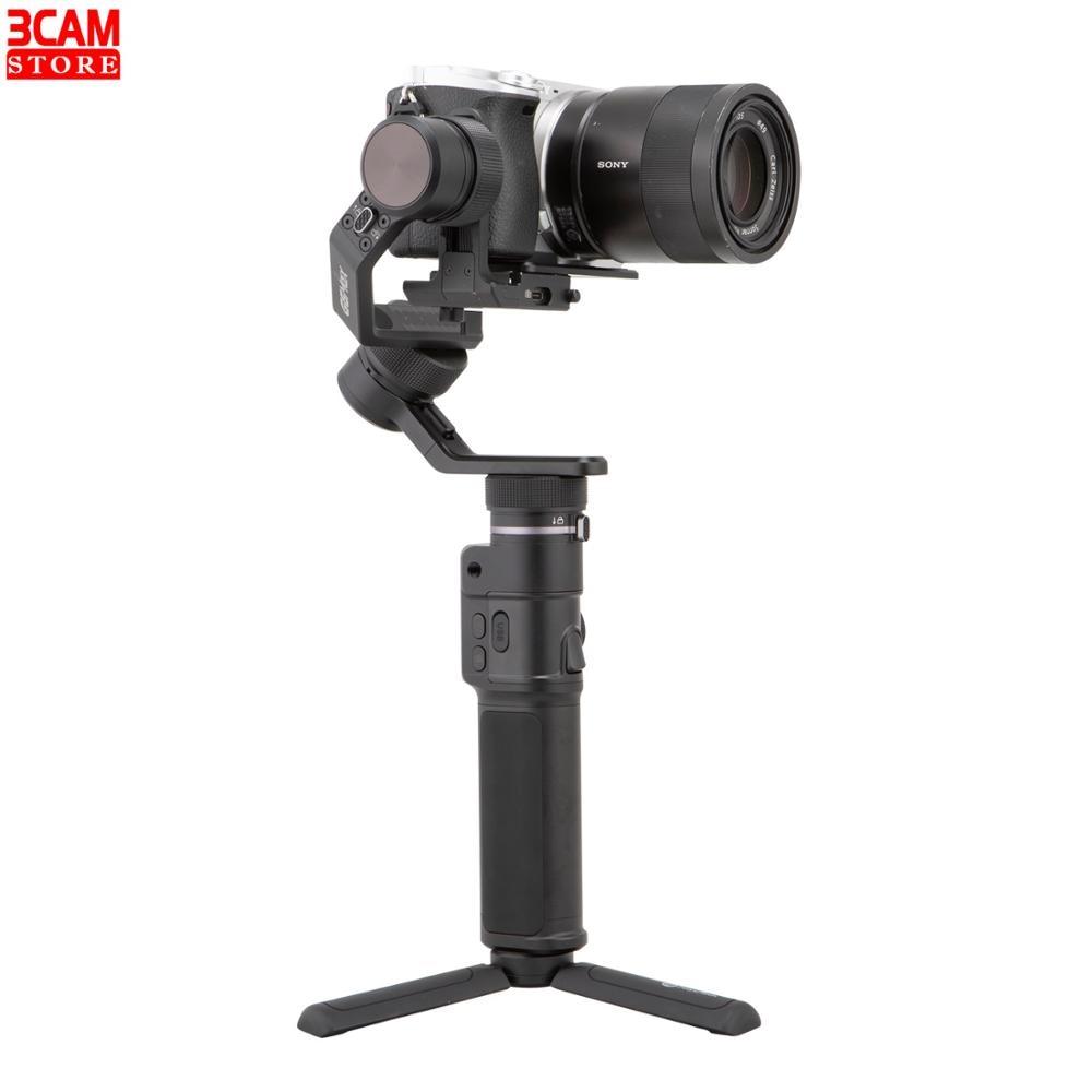 Feiyutech g6 max 3 eixos handheld estabilizador vlog cardan para smartphone gopro hero 7 6 5/samsung s8 câmera cardan estabilizador