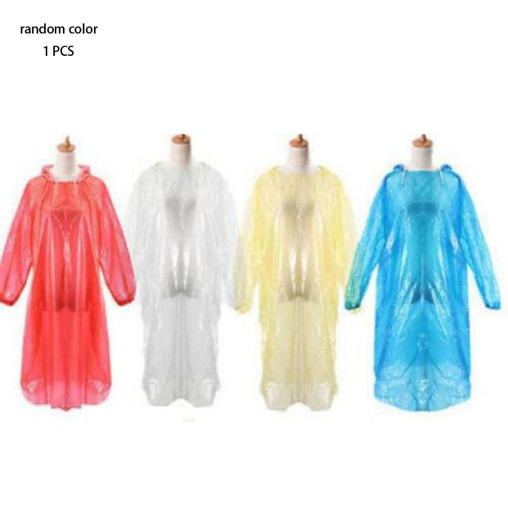 Одноразовый дождевик, дождевик для взрослых, водонепроницаемый дождевик, пончо для экстренных ситуаций, дорожный кемпинг, уличный дождевик
