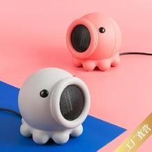 Chauffe-tête de lit électrique 500W   Permet de secouer la tête, en forme de poulpe, petit format, chauffage de la maison