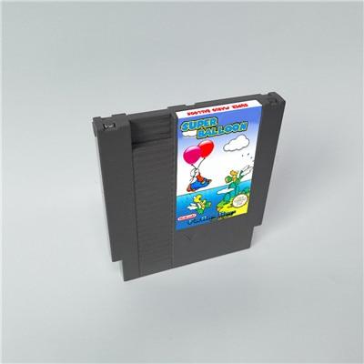 Globo Super Marioed-cartucho de juego de 72 pines de 8 bits