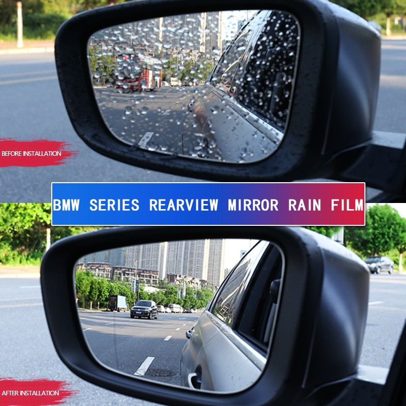 Apply to BMW car rearview mirror rainproof film new 5 series modified X1 / X3 / X5 / X6 / 1 series, rearview mirror waterproof