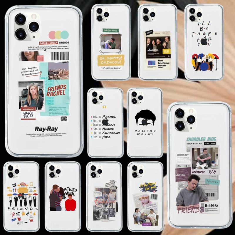 Central Perk Friends shell Phone Case Transparent soft For iphone 5 5s 5c se 6 6s 7 8 11 12 plus min