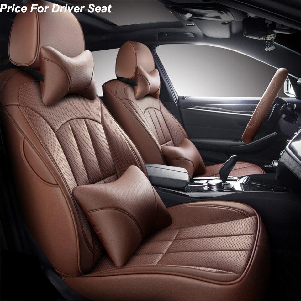 leather car seat cover For Renault megane 2 3 fluence scenic clio Captur kadjar logan 2 duster arkana kangoo talisma accessories