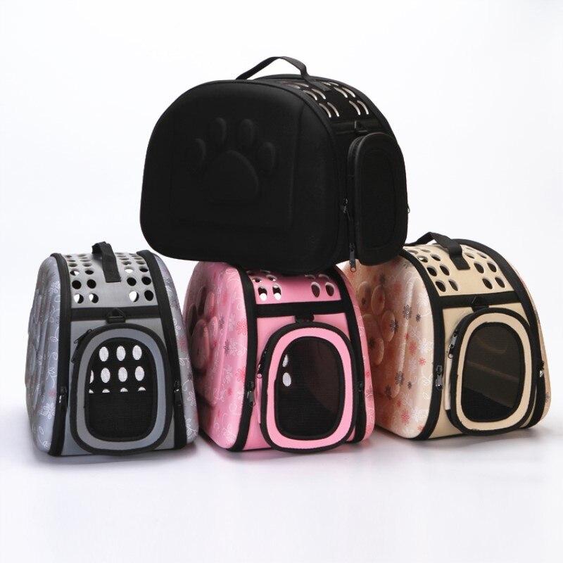 Pet Out Carrying Case Collapsible EVA Pet Bag Breathable Portable Slung Cat Bag Dog Backpack Home Out Pet Essential Pet Bag
