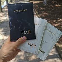 אישית שם דרכון כיסוי נסיעות ארנק מכסה לדרכונים (רק אנגלית אותיות יכול להיות, מילה אחת, תחת 8 אותיות)
