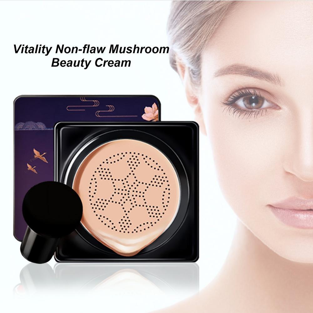 Bb Air Cushion Mushroom Head Foundation Cc Cream Concealer Whitening Makeup Water Proof Cosmetics Brighten Face Foundation Tone