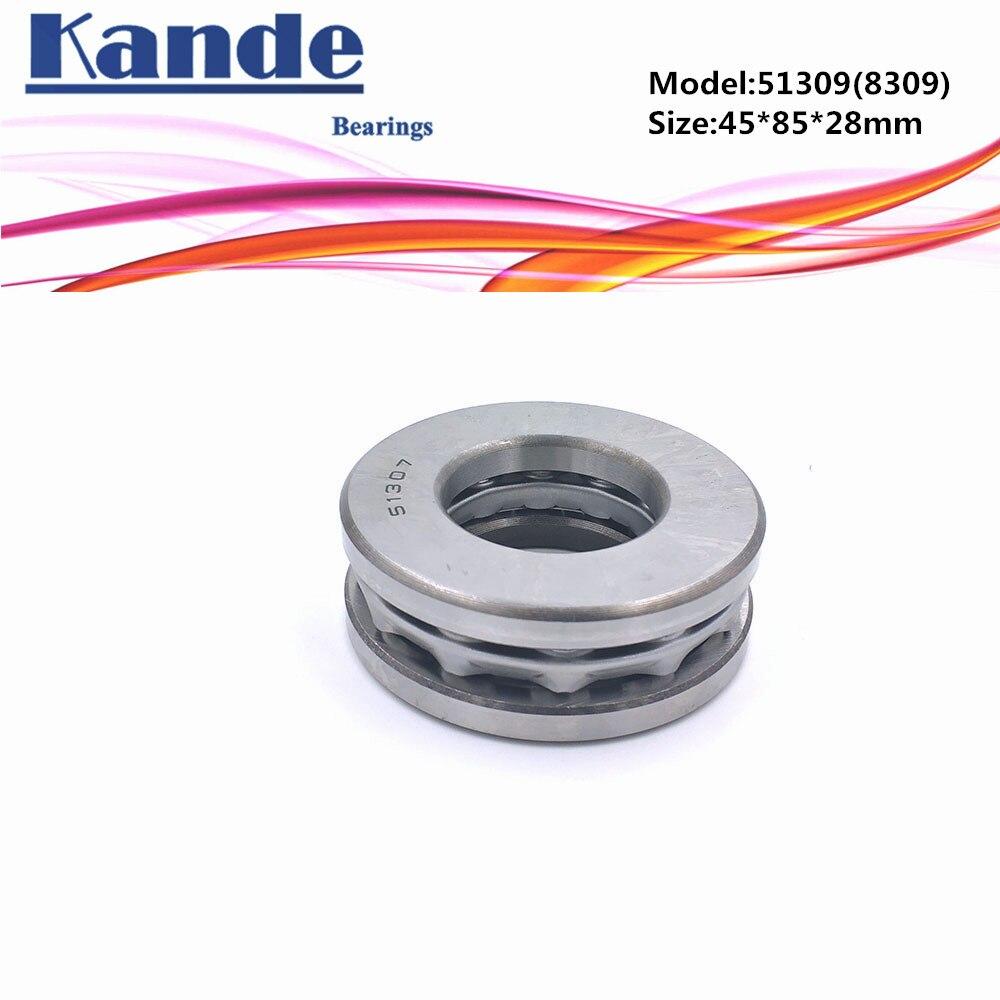 Kande-محمل كروي مسطح ، 51309 8309 45x85x28 ، 1 قطعة ، محمل محوري 51309