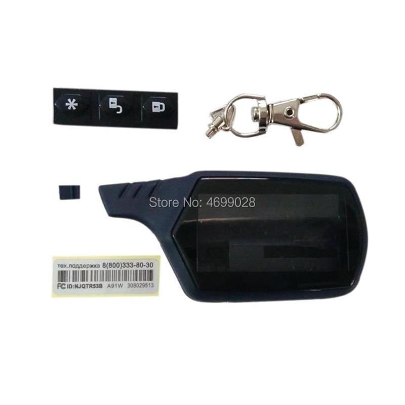 10PCS/lot A91 Key Shell Keychain Body Case For 10 PCS/lot Starline A91 A61 B9 B6 B91 B61 KGB FX-7 lc