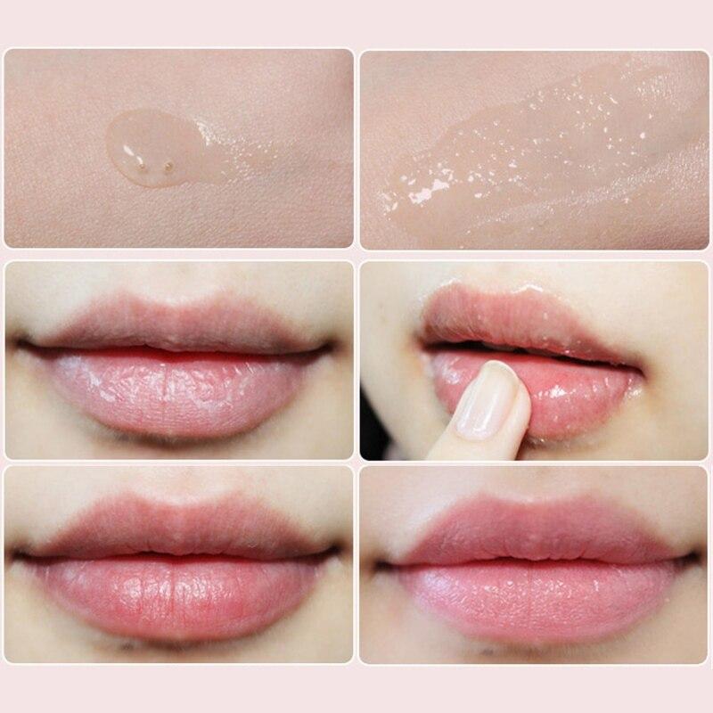 2019 New Lip Exfoliating Moisturizer Repair Lip Plumper Dead Skin Gel of Full Lip Nursing Scrubs Lip Makeup