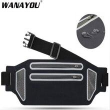 WANNAYOU Ultra-mince course sac de taille, étanche 6.5 pouces Runing téléphone pochette ceinture sac pour la course, Sport Jogging sac de course