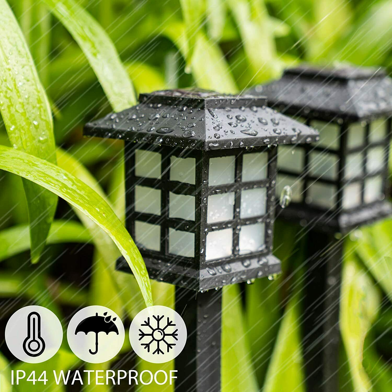 D2 12 PCS Outdoor Solar Lights Garden Pathway Light for Patio Yard Driveway Walkway Lamp Holiday Light Yard Underground Spotligh enlarge
