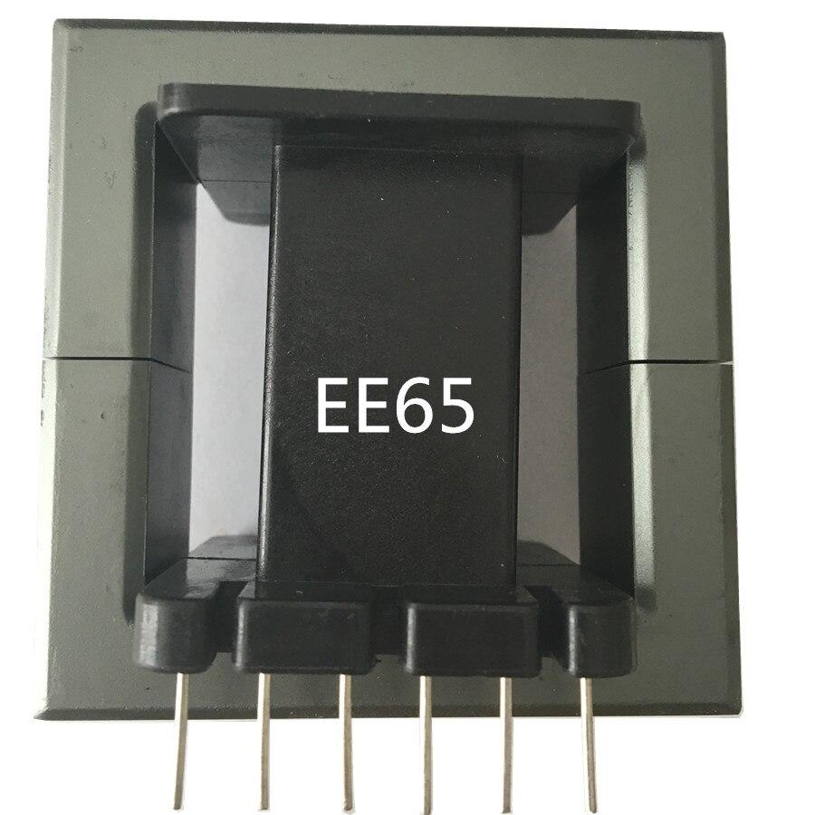 EE65B 12pins 6 + 6pin الترا كبير محول الفريت الأساسية E65/28/21 مللي متر المعزل الفريت حبة RF الاختناق الفريت MnZn PC40 ، 1 مجموعات/وحدة
