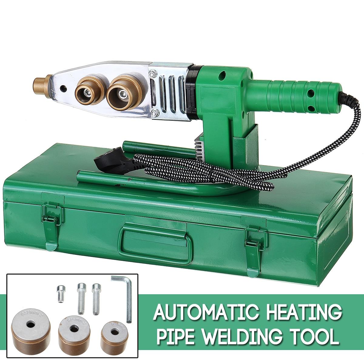 Electric Pipe Welding Machine Heating Tool Heads Set For PPR PB PE Plastic Tube PPR Welder Hot Melt Machine Temperature Control