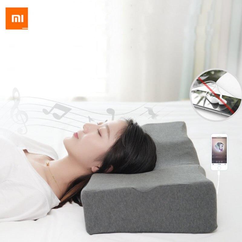 Funda de almohada para Xiaomi PMA U10, con control inteligente de la música, soporte de cuello, columna Cervical, sueño, Bluetooth