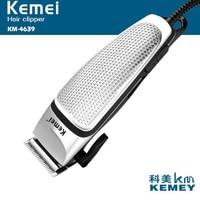 kemei elecctric hair trimmer KM-4639 corded powerful electric hair clipper hair cutting machine blade adjustable Non-slip handle