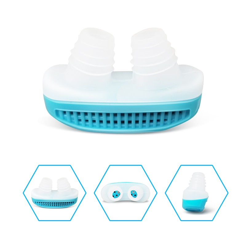Silicone anti snoring Nasal Dilators Anti Snore Nose Clip Sleep Tray Sleeping Aid Apnea Guard Night Device