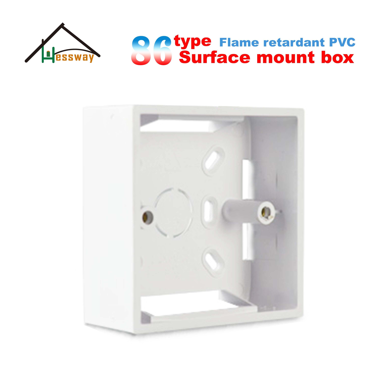 Caja para montaje en pared 86 Tipo de alta resistencia con superficie de pared