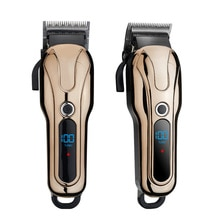 2021rechargeable strong power Cordless salon Professional cordless hair clipper trimmer electric gol