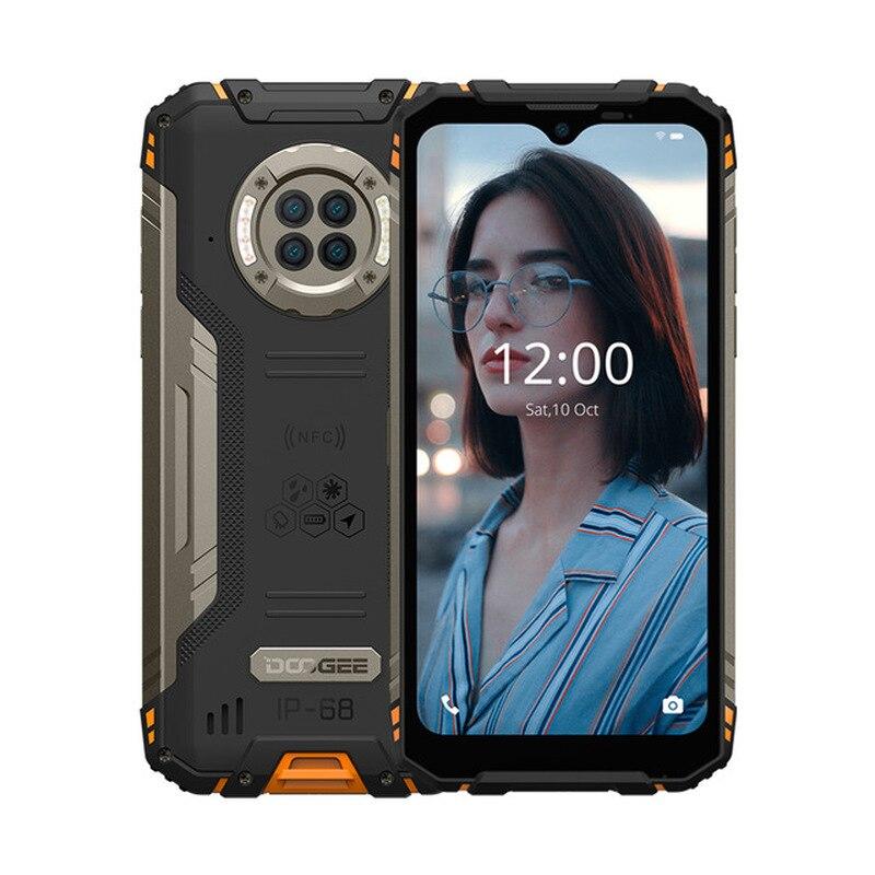 Перейти на Алиэкспресс и купить Водонепроницаемый прочный телефон DOOGEE S96 Pro, 48 МП, 4 камеры, 20 МП, инфракрасное ночное видение, Восьмиядерный Helio G90, 8 ГБ + 128 ГБ, 6350 мАч смартфон