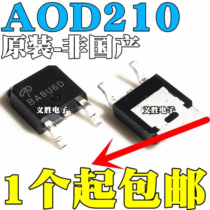 Original 5pcs/ AOD210 70A 30V TO252 D210