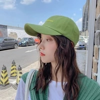 black green letter embroidery baseball cap men dad hat unisex lover couple hats caps for men women new fashion gorras para mujer