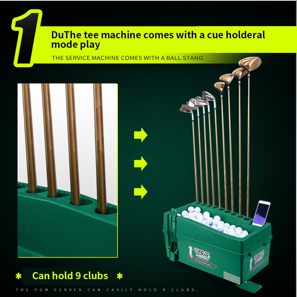 PGM Golf Swing Serve Training Tool  ABS Material Golf Training Service Machine Automatic Golf Ball Multifunction Exercise