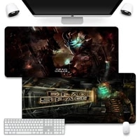 dead space silicone largesmall pad to mouse game mouse pad company xl large keyboard pc desk mat takuo anti slip comfort pad
