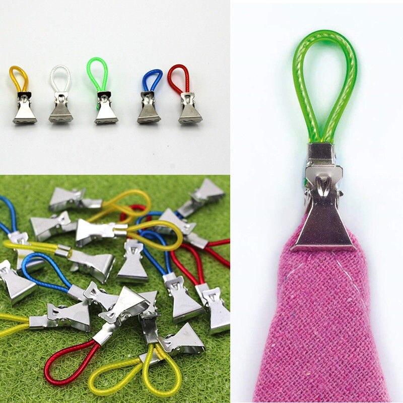 5 pçs toalha de chá pendurado clipes clip on ganchos loops mão toalha cabides pendurado roupas pegs para cozinha banheiro casa organizador